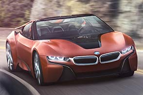 BMW Innovationen auf der CES 2016 in Las Vegas, u. a. der BMW i Vision Future Interaction