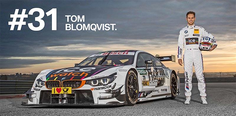 BMW in der DTM 2016: Tom Blomqvist