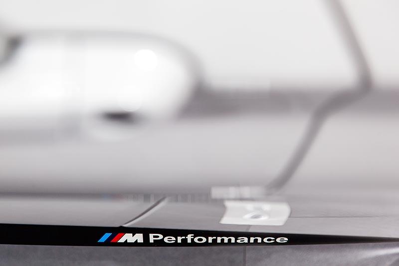 BMW M240i Cabrio (F23) mit BMW M Performance Parts, Seitenschweller mit Schriftzug