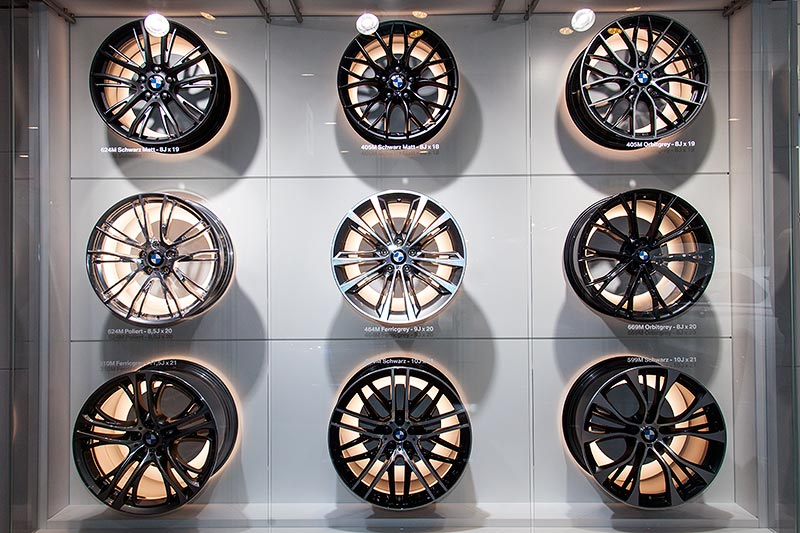 BMW Performance Felgenauswahl, Essen Motor Show 2016