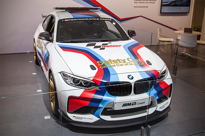 BMW M2 MotoGP Safety Car, Essen Motor Show 2016
