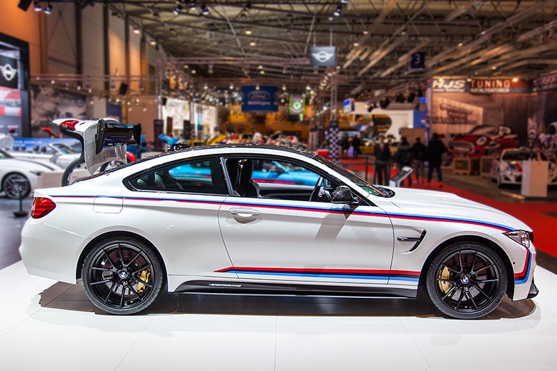 BMW M4 Coupé (F82) mit BMW M Performance Parts, Essen Motor Show 2016