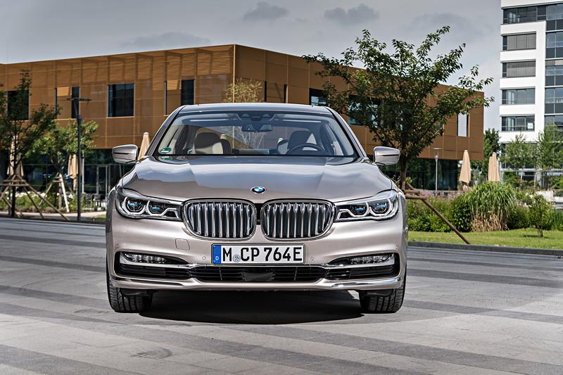 BMW 740Le xDrive iPerformance, ausgestattet mit BMW Laserlicht zum Mehrpreis von 1.200 Euro