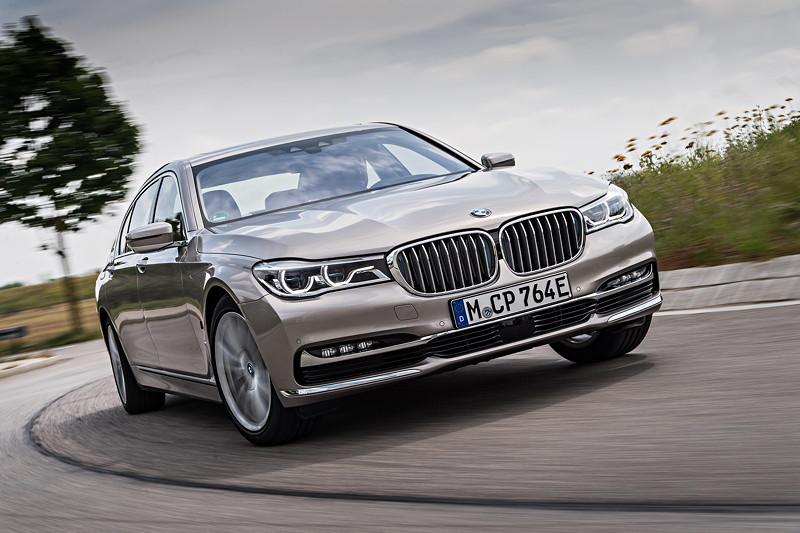BMW 740Le xDdrive iPerformance mit neuem E-Kennzeichen
