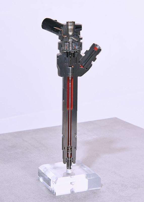 Magnetventil-/Piezo-Injektor für Dieselmotoren.