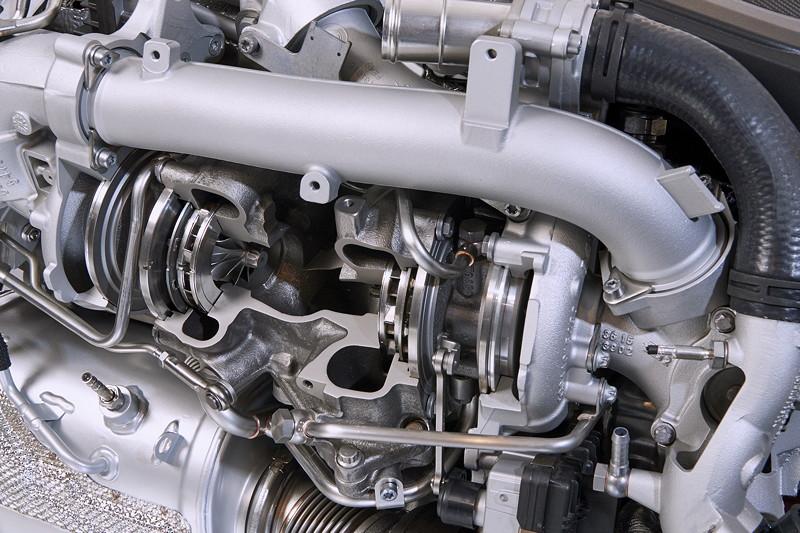 M Performance TwinPower Turbo Reihen-6-Zylinder Dieselmotor.