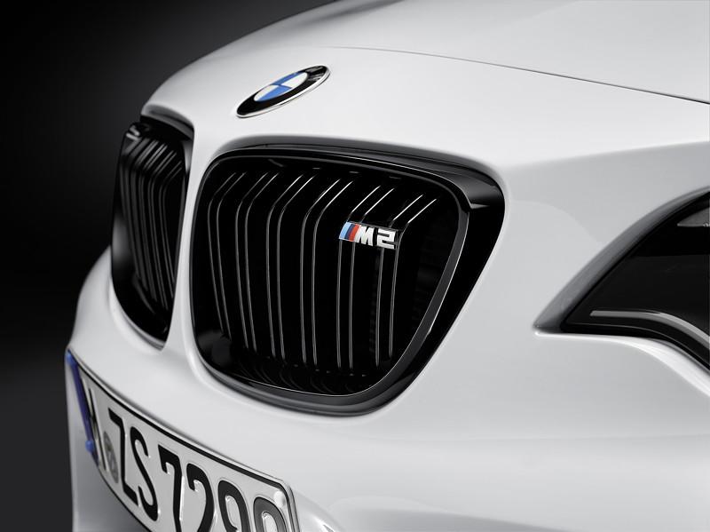 BMW M2 Coupé mit BMW M Performance Zubehör: Niere