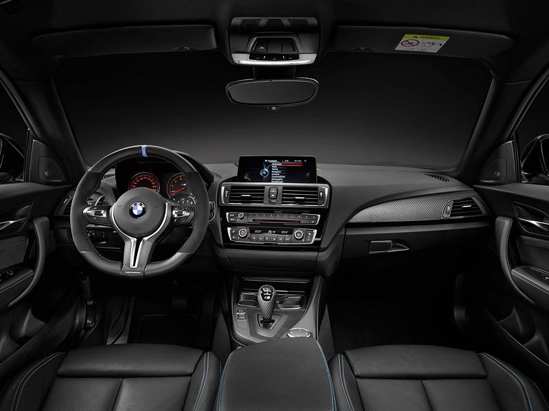 BMW M2 Coupé mit BMW M Performance Zubehör: Innenraum