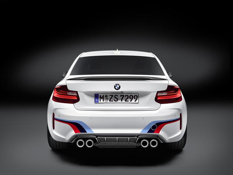 BMW M Performance Zubehör für das neue BMW M2 Coupé
