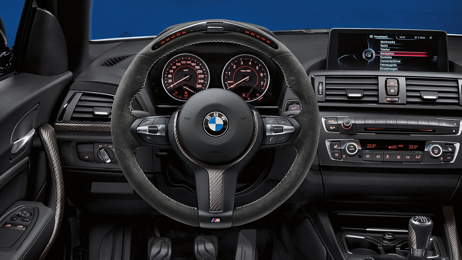 foto bmw 2er coup f22 bmw m performance lenkrad ii. Black Bedroom Furniture Sets. Home Design Ideas