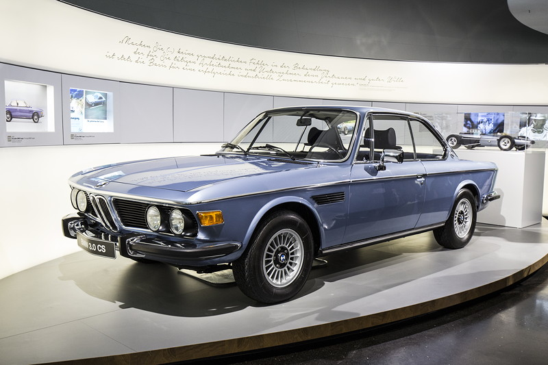 BMW Museum, Wechselausstellung '100 Meisterstücke': BMW 3,0 CS