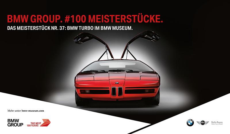 BMW Meisterstück Nr. 37: BMW Turbo im BMW Museum München