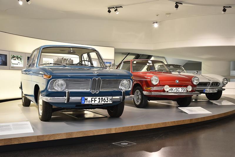 BMW Museum, Wechselausstellung '100 Meisterstücke': die neue Klasse