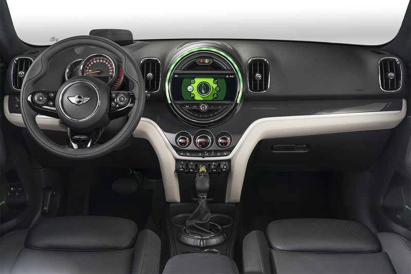 MINI Cooper S E Countryman ALL4, Interieur vorne
