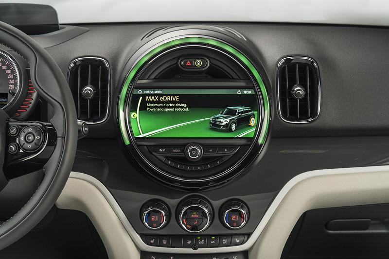 MINI Cooper S E Countryman ALL4, Bordmonitor, Auto eDrive