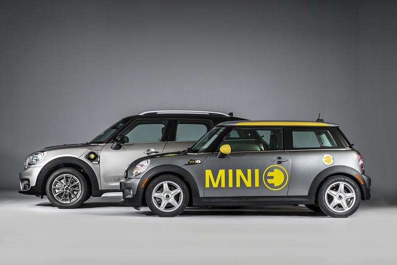 MINI Cooper S E Countryman ALL4 und MINI E