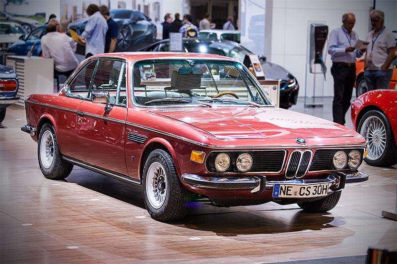 BMW 3.0 CS (E9) von Thomas Ploch auf der Techno Classica 2016