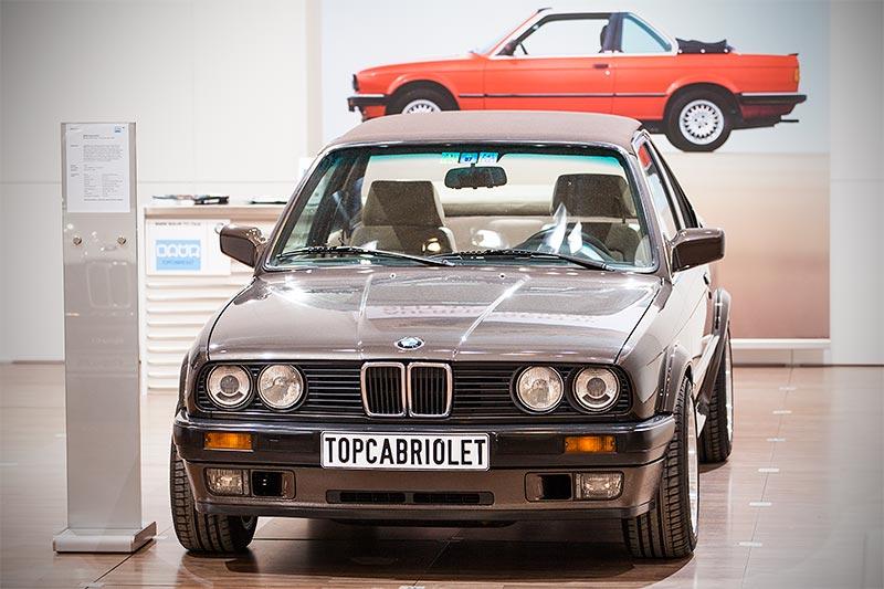 BMW 325iX Baur Topcabriolet TC2, Baujahr 1989, Stückzahl: 14.455 (alle Baur TC2 gesamt)