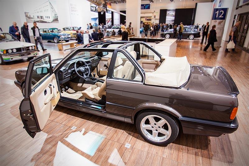 BMW 325iX Baur Topcabriolet TC2 (E30) von Markus Jänisch auf der Techno Classica 2016