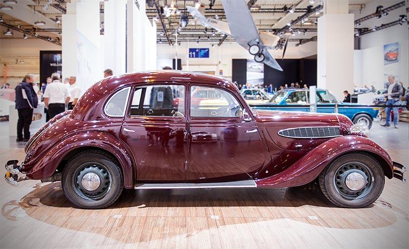 BMW 326 Limousine, Baujahr 1937, Stückzahl: 10.142