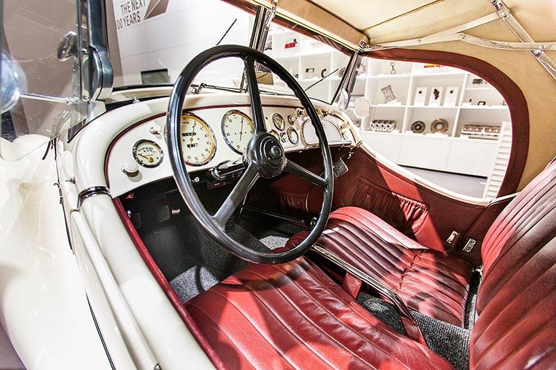 BMW 328, Blick in den Innenraum