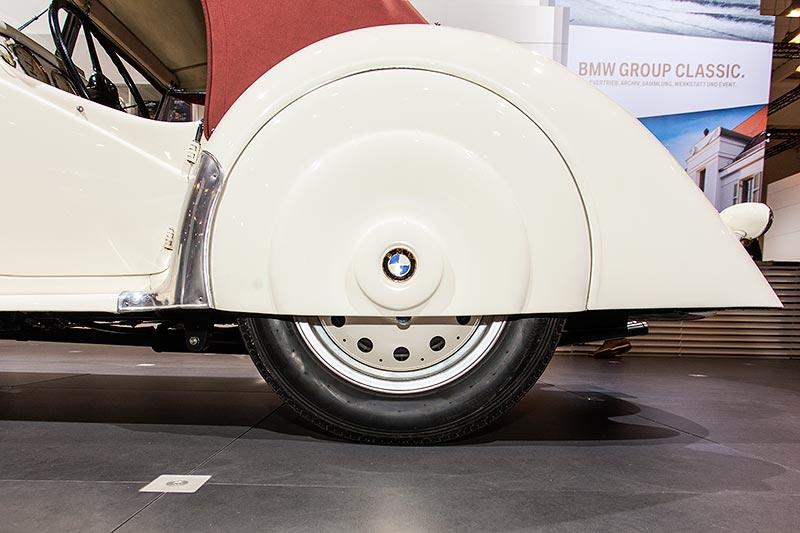 BMW 328, hinterer Radkasten