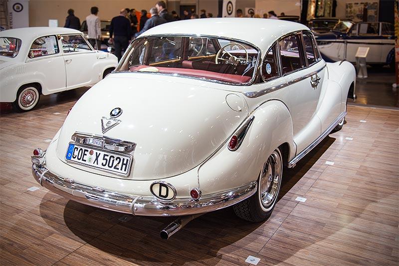 BMW 502 3,2 Liter Super, die schnellste deutsche Limousine seiner Zeit