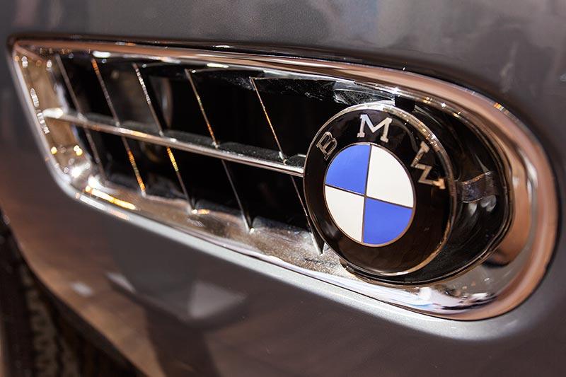 BMW 507, seitliche Kieme