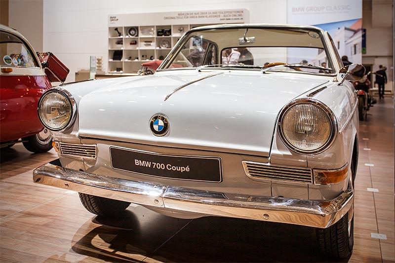 BMW 700, ausgestellt vom BMW Isetta Club auf der Techno Classica 2016