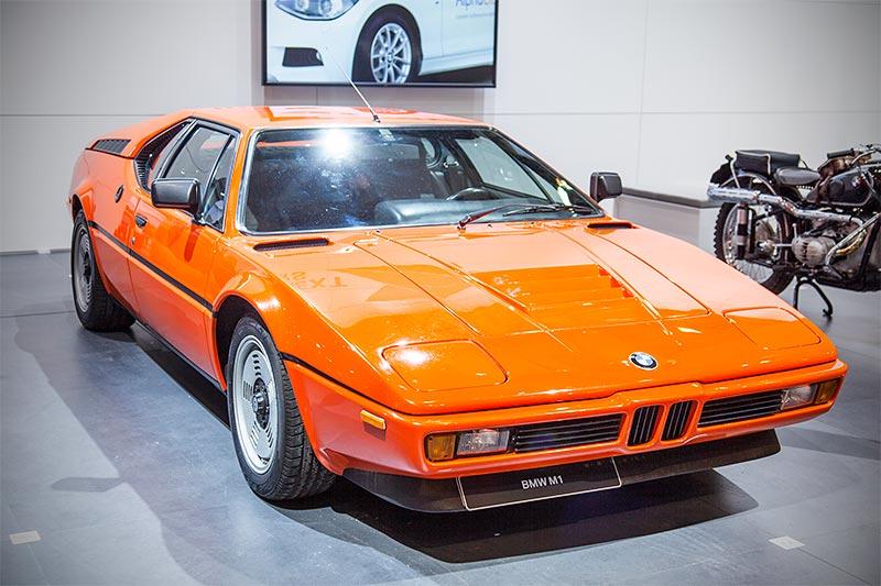 BMW M1, Baujahr: 1980, Stückzahl: 399 (1978-1981)