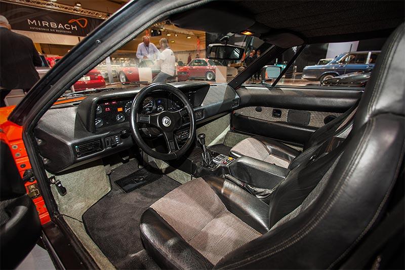 BMW M1, Blick in den Innenraum