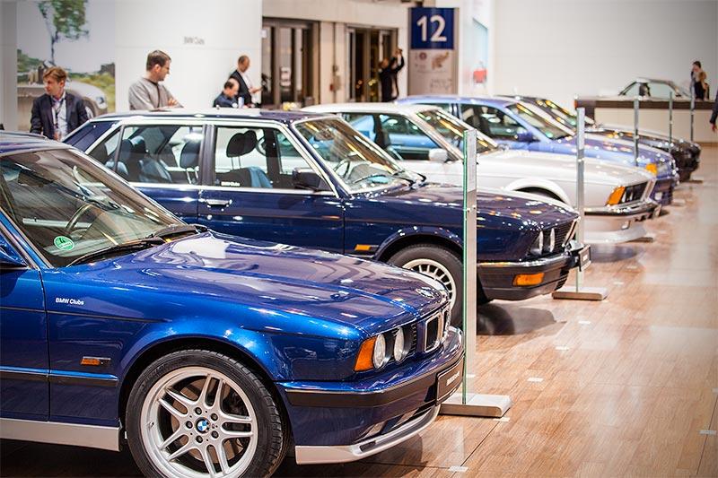BMW M5 touring, ausgestellt auf der Techno Classica 2016
