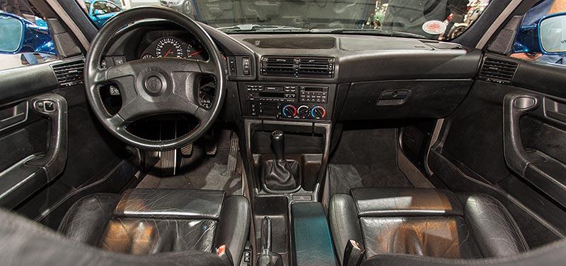 BMW M5 touring, Interieur vorne