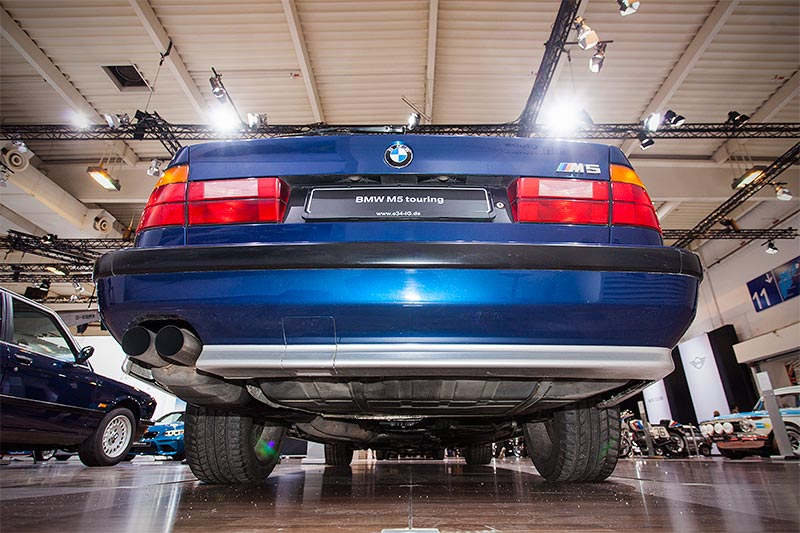 BMW M5 touring, ehemaliger Neupreis: 123.000 DM