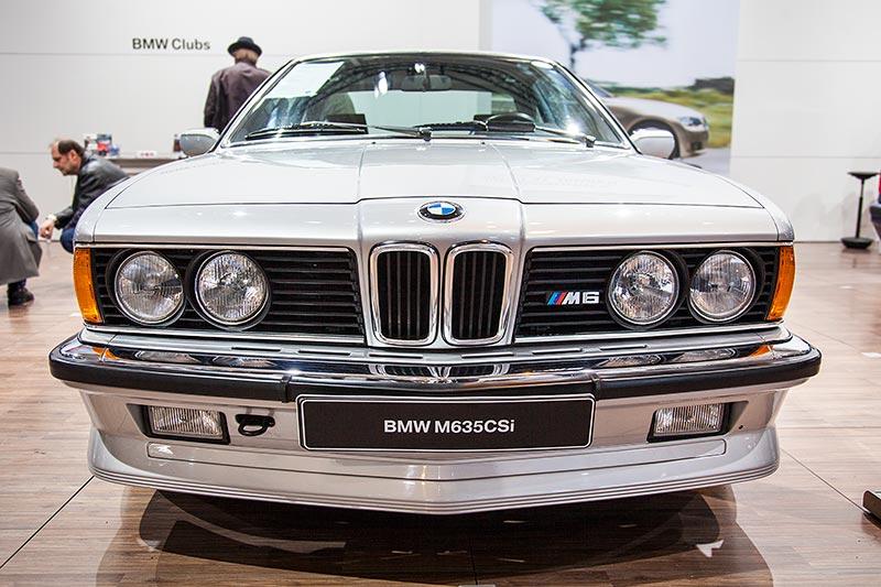 BMW M635 CSi, Baujahr 1985, Stückzahl: 5.855