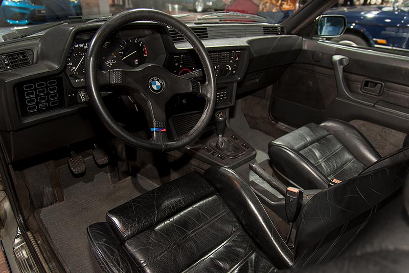 BMW M635 CSi, Cockpit