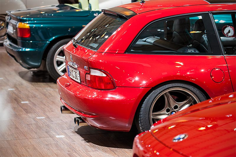 BMW M coupé, ausgestellt auf der Techno Classica 2016