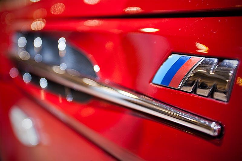 BMW M coupé, seitliches M Logo mit Kieme