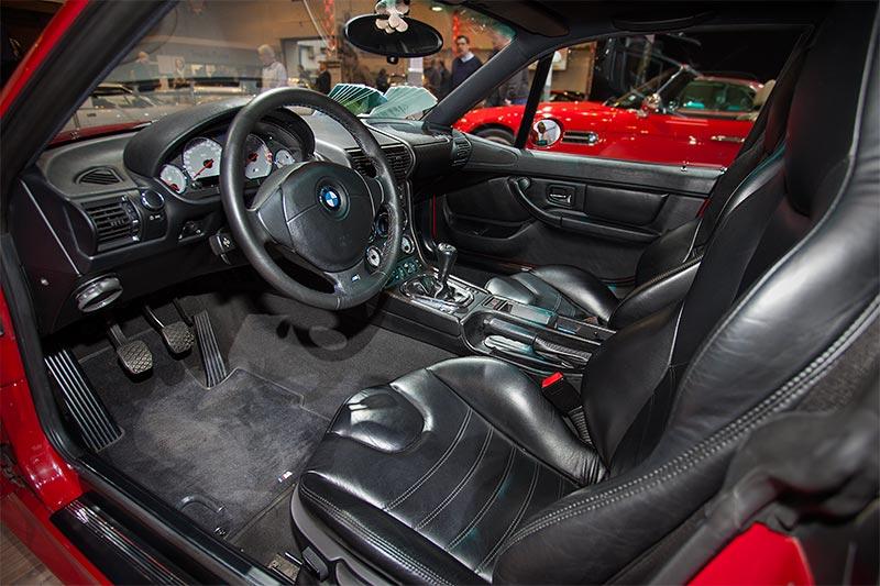 BMW M coupé, Blick in den Innenraum