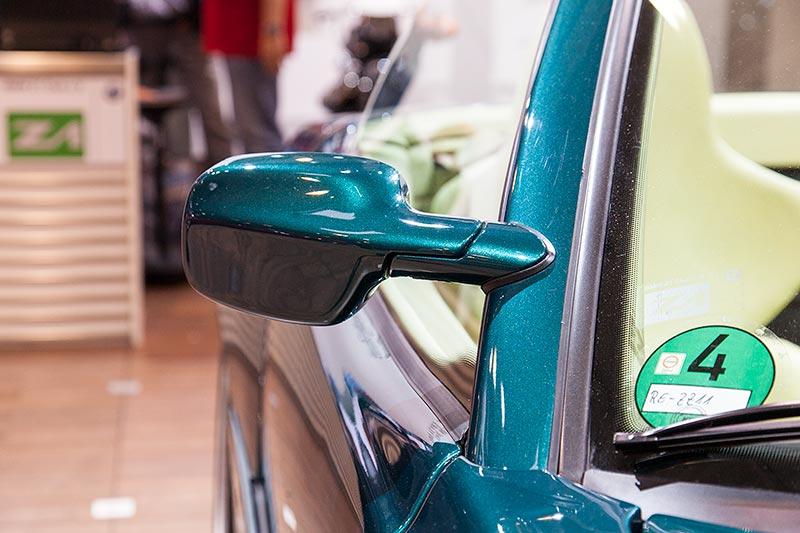 BMW Z1, Außenspiegel