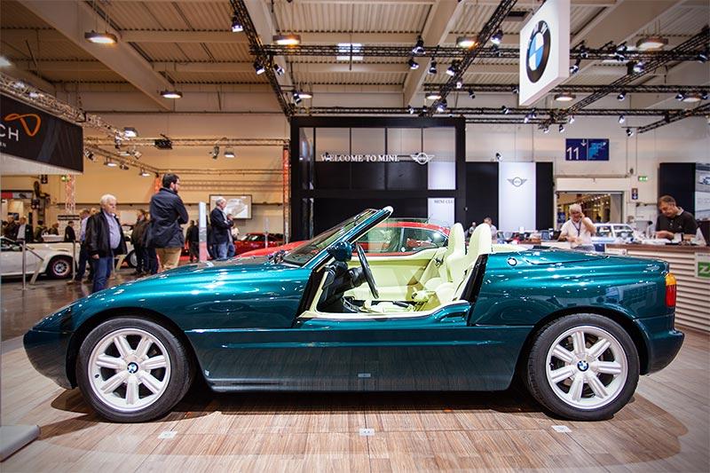 BMW Z1, mit geöffneter Tür, Baujahr 1990, Stückzahl: 8.000
