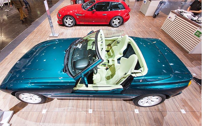 BMW Z1, ausgestellt auf der Techno Classica 2016
