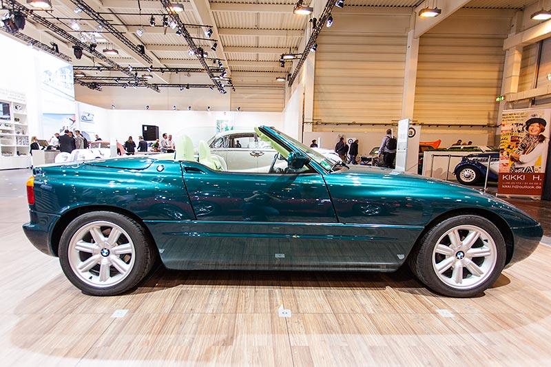 BMW Z1, Seitenansicht mit geschlossener Tür