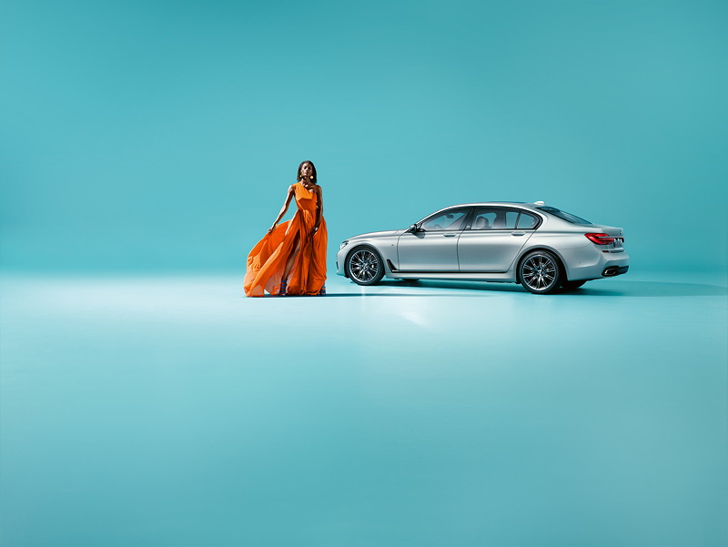 Der BMW 7er Edition 40 Jahre