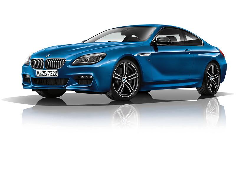 M Sport Limited Edition der BMW 6er Reihe auf neu gestalteten 20Zoll großen MLeichtmetallräder in Bicolor-Ausführung und Mspezifischem Doppelspeichendesign