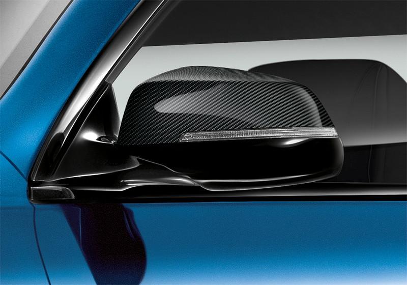 M Sport Limited Edition der BMW 6er Reihe, Außenspiegelklappen in Carbon
