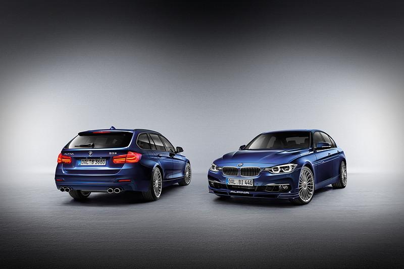 BMW Alpina B3 S BiTurbo Touring und Limousine