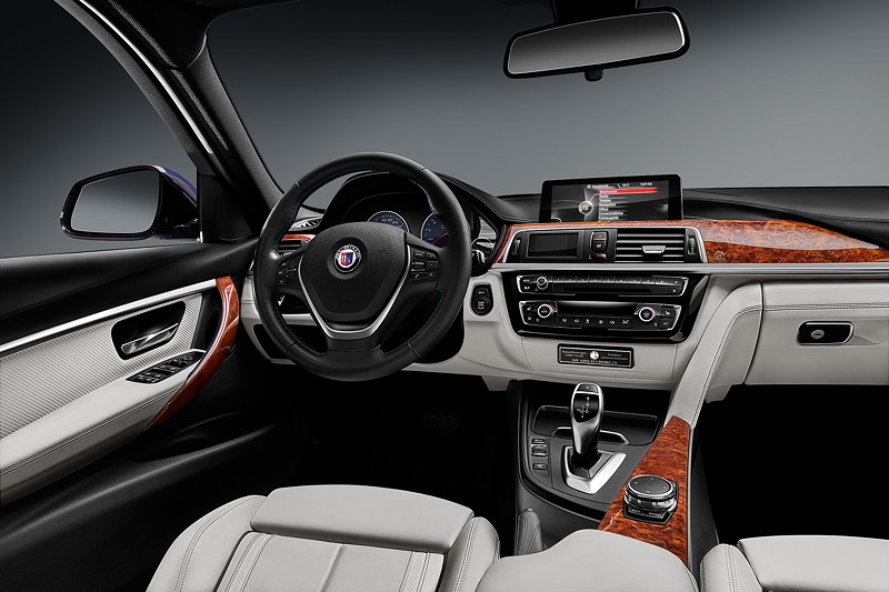 BMW Alpina B3 S BiTurbo, Interieur