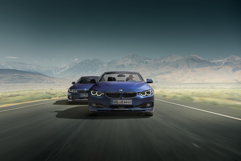 BMW Alpina B4 S BiTurbo Cabrio und Coupé