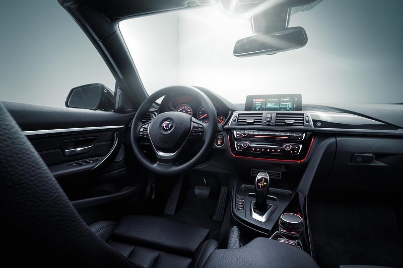 BMW Alpina B4 S BiTurbo, Interieur